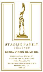 <pre>Staglin Family Vineyard Estate Organic Olive Oil - 375 ml</pre>